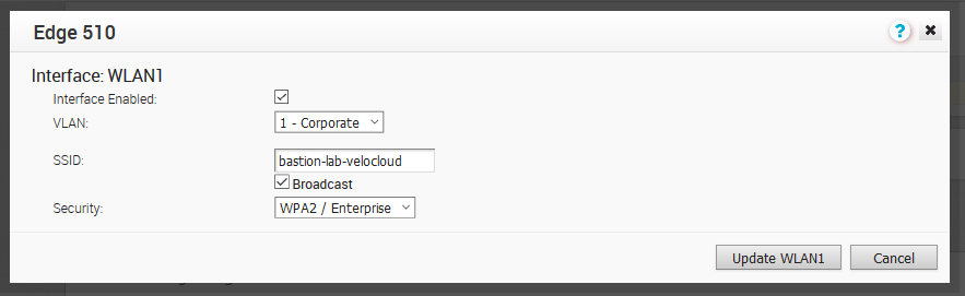 Configuration Velocloud to use Cisco ISE as a RADIUS server